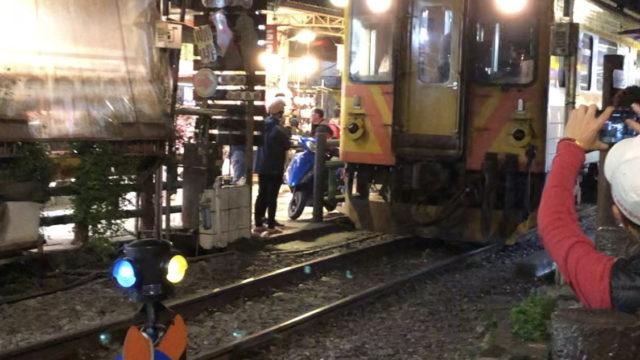 十份の電車