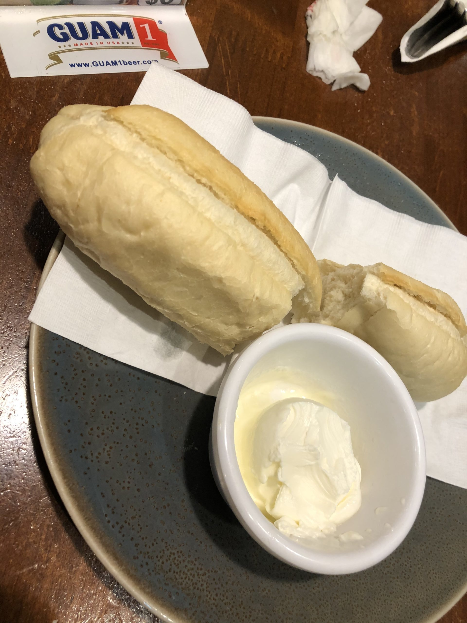 Tony Roma's パン
