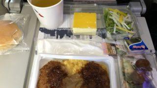 アメリカン航空機内食
