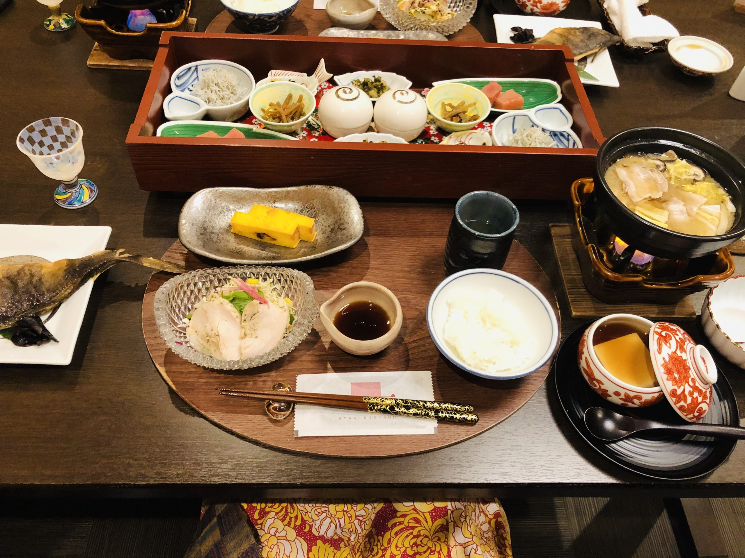 百楽荘 朝食