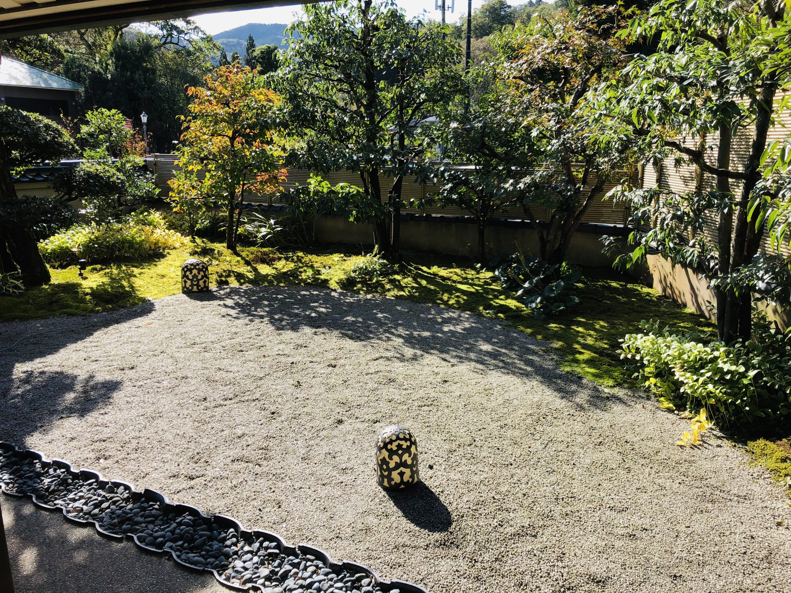 百楽荘 庭